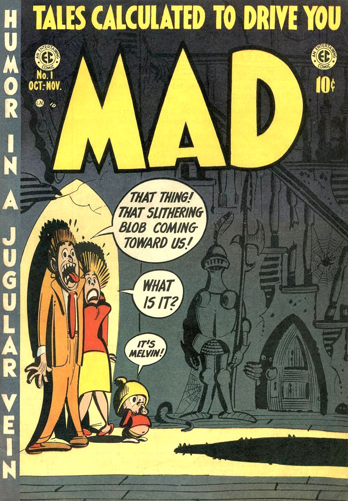 La couverture du mad N°1