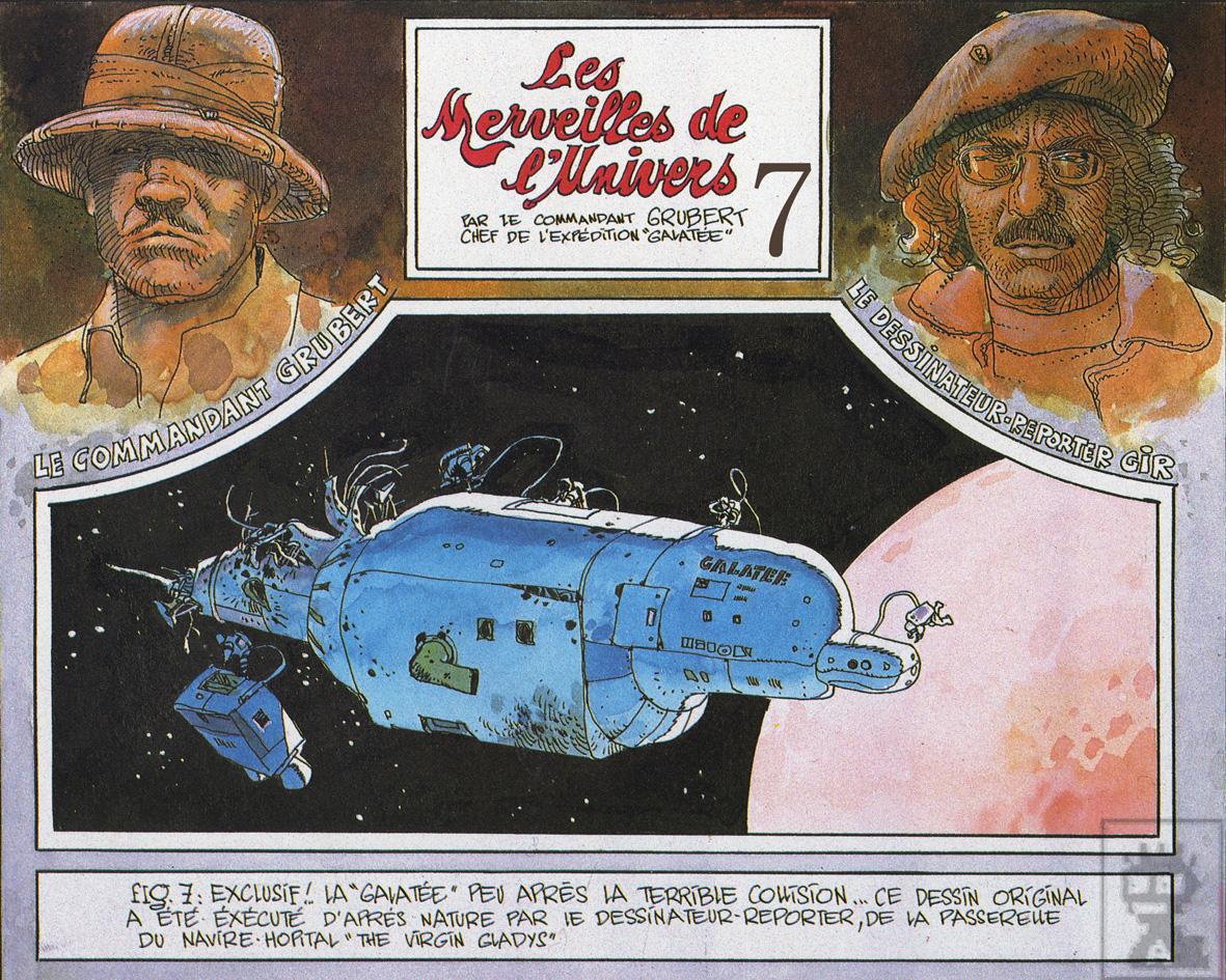 Moebius dans Pilote n° 749 (1974)