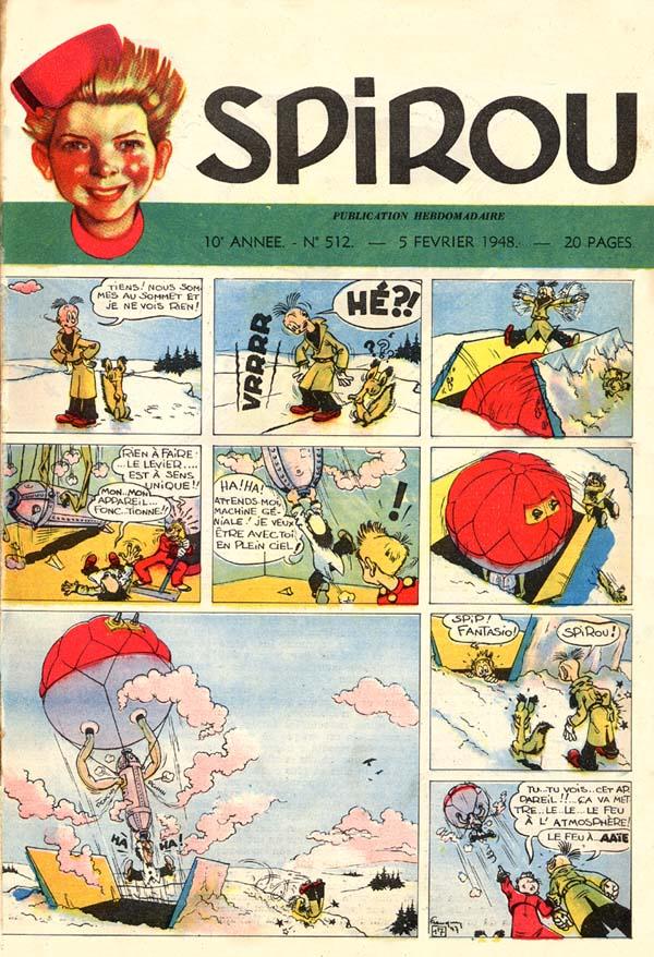 Numéro 512 du journal de Spirou